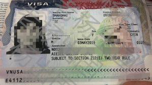 B1拒签后转换签证类型J1审核三个半月终获签证
