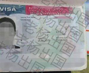 M女士在美停留4个月后申请F1签证,第五次签证通过